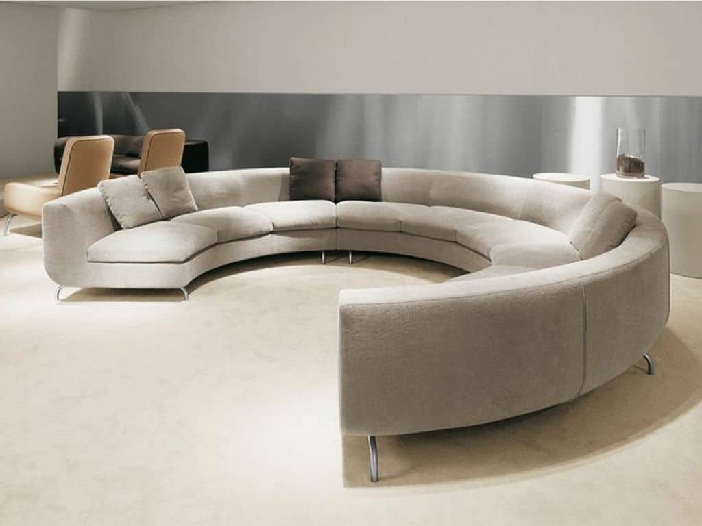 Modern Full Round Sofa Furniture
