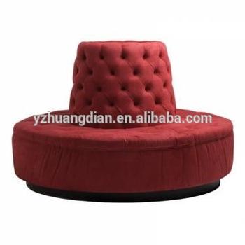 Contemporary hotel round lobby sofa YS7027