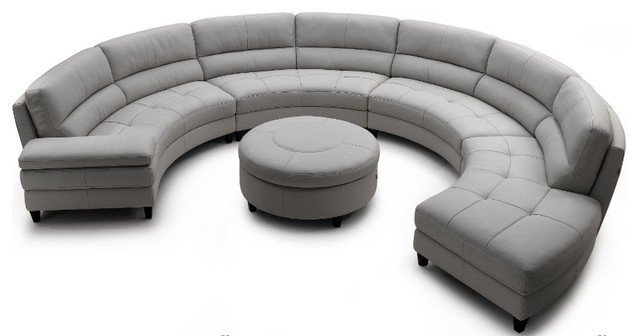 Round sofa lounge big
