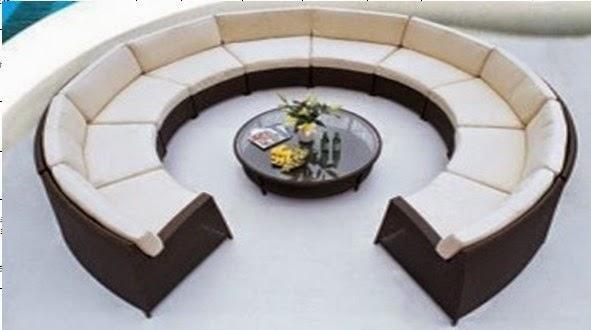 Round sofas for your unique interior