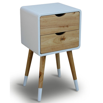 Modern Scandinavian Furniture Wooden Oak Legs Drawers Chest