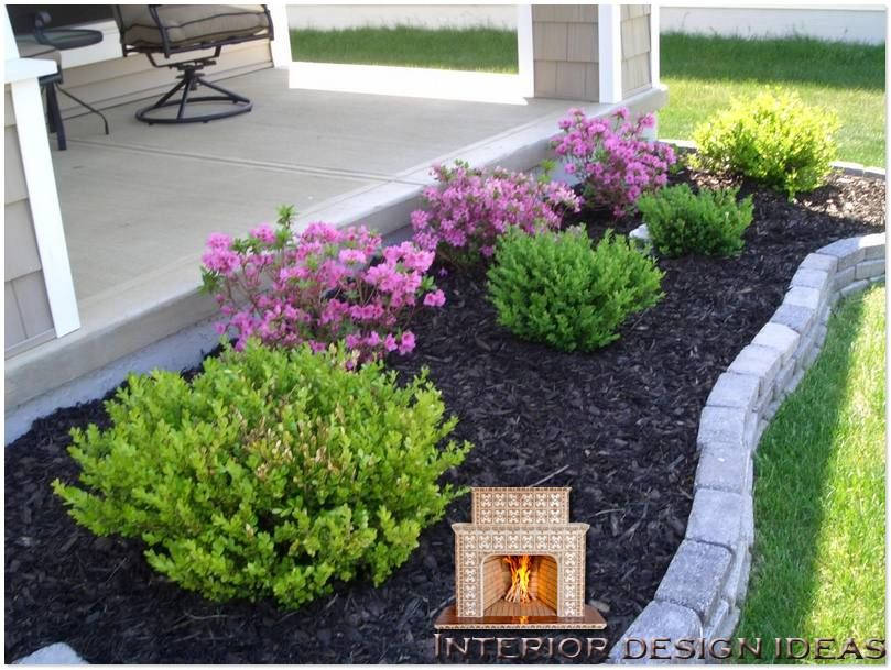 easy landscaping ideas for front of house