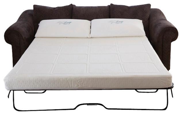 Gel Memory Foam Sofabed Sleeper Replacement Mattress, Full