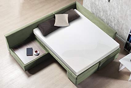 Zinus Cool Gel Memory Foam 5 Inch Sleeper Sofa Mattress, Replacement Sofa  Bed Mattress,