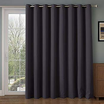 RHF Thermal Blackout Patio door Curtain Panel, Curtains for sliding glass  door,Sliding door