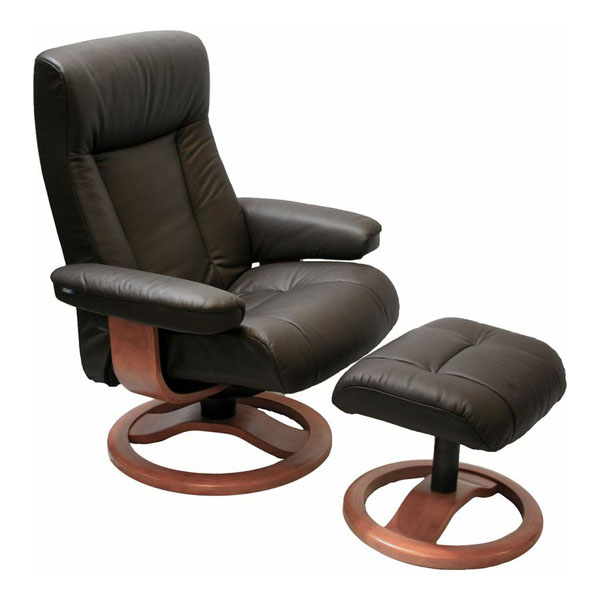 Small Chair With Ottoman