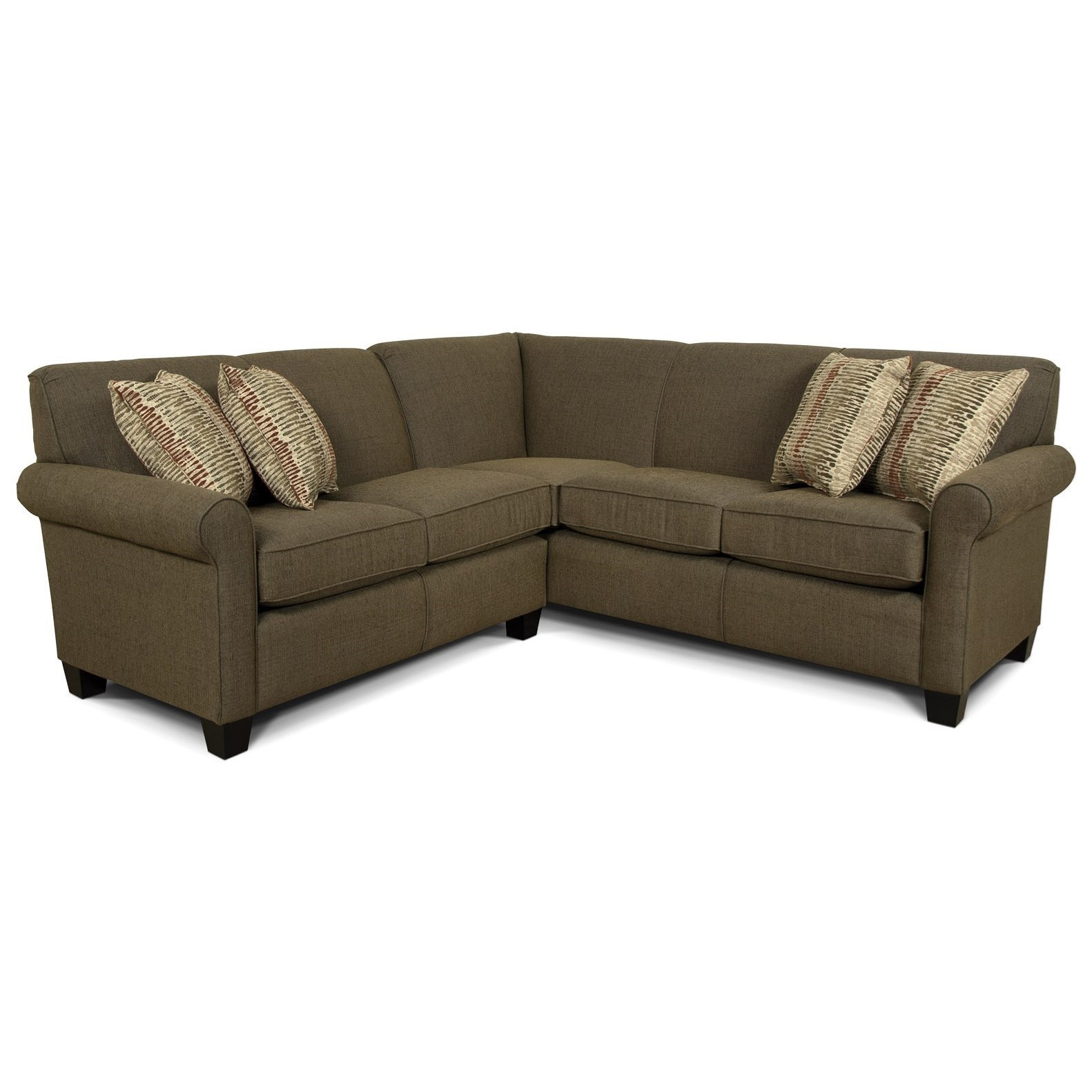 England Angie Small Corner Sectional Sofa   Gill Brothers Furniture   Sectional  Sofas