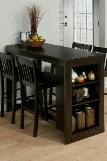 cute and functional table Small Kitchen Tables, Kitchen Dining, Dining  Table Small Space,