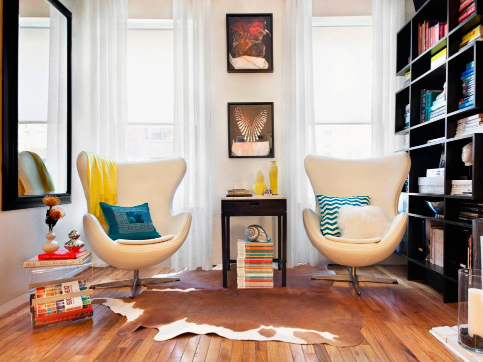 Small-Space Design for Living Rooms