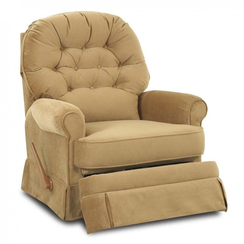Small swivel rocker recliner