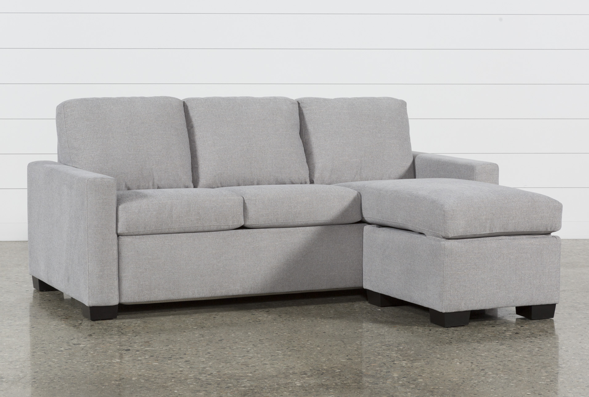 Mackenzie Silverpine Queen Plus Sofa Sleeper W/ Storage Chaise | Living  Spaces