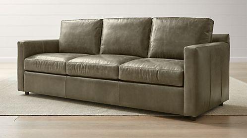 Barrett Leather 3-Seat Queen Sleeper