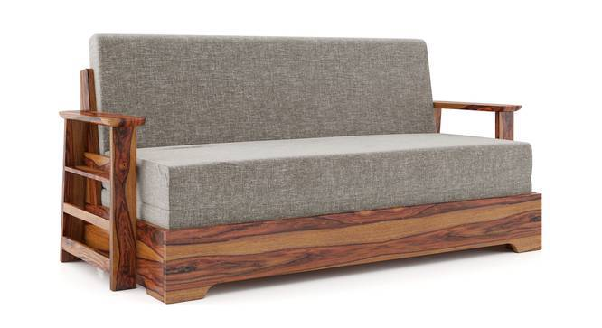 Mahim Sofa Cum Bed (Flint Grey, With Storage Arm Design) by Urban Ladder