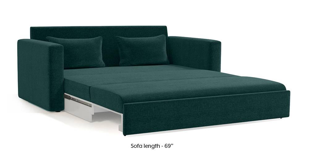 Apollo Sofa Cum Bed (Malibu Blue) (3-seater Custom Set - Sofas