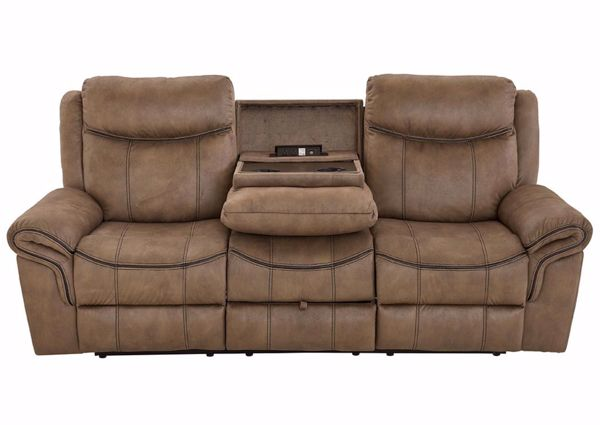 Knoxville Reclining Sofa – Brown