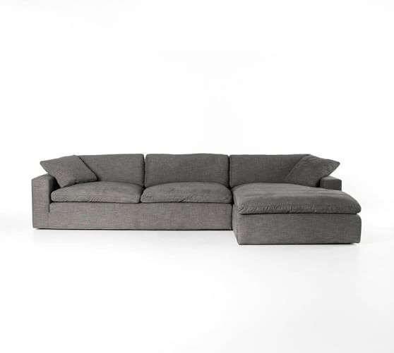 Milo Upholstered Sofa with Chaise Sectional