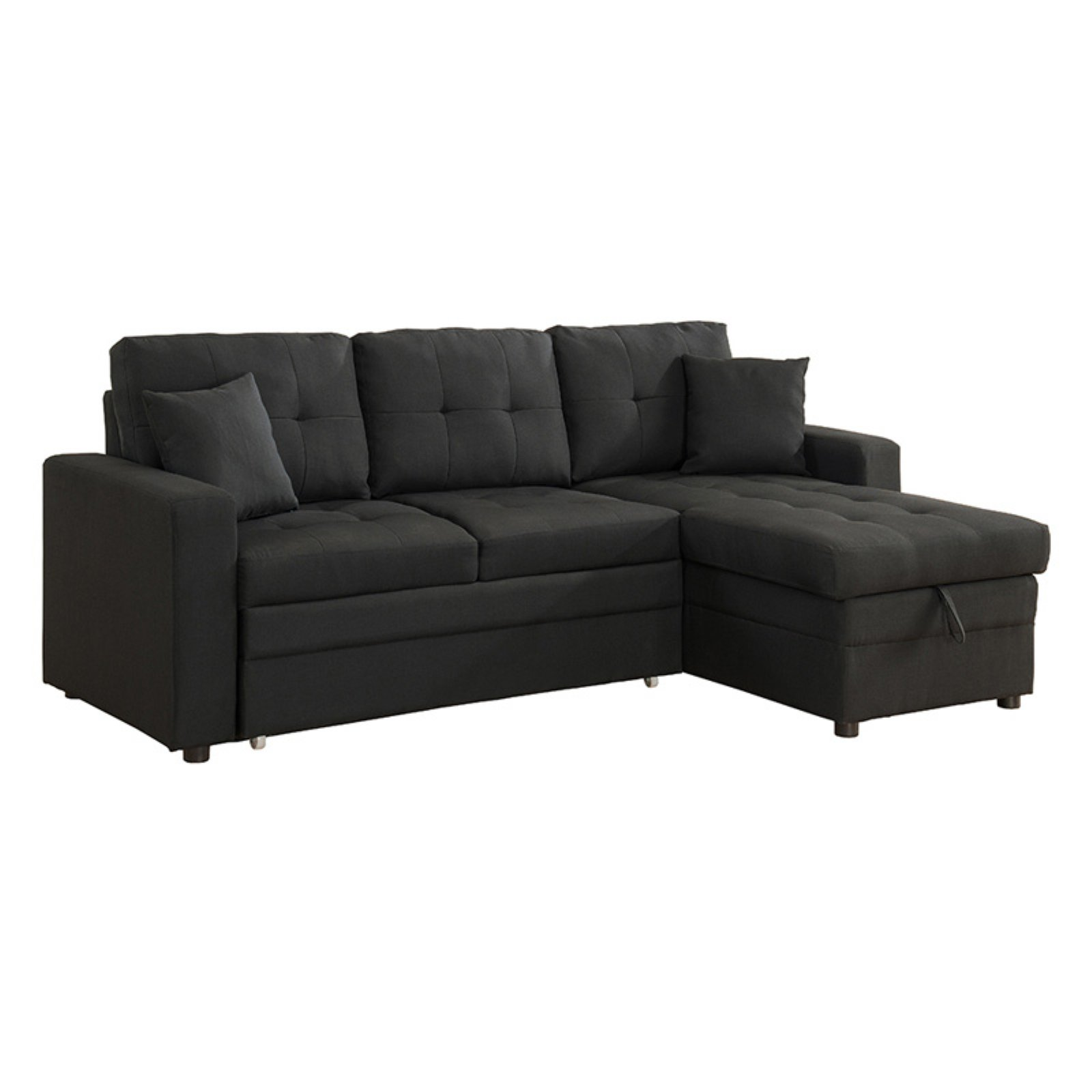 Milton Greens Stars Darwin Sectional Sofa with Storage and Pull Out Bed -  Traveller Location
