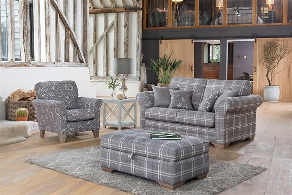 Alstons Georgia fabric sofas armchairs