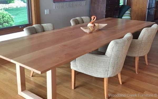 Home/Products/Solid Wood Contemporary Dining Table. Custom Made Tables