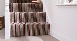 kaleidoscope, wool carpet, stair carpet, Kingsmead carpets
