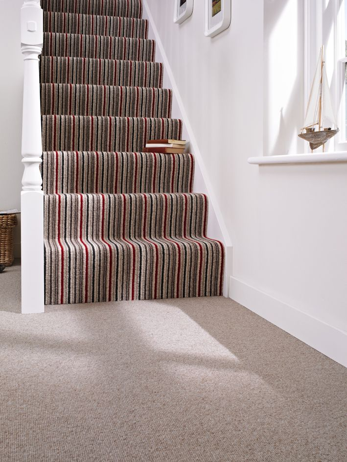 kaleidoscope, wool carpet, stair carpet, Kingsmead carpets