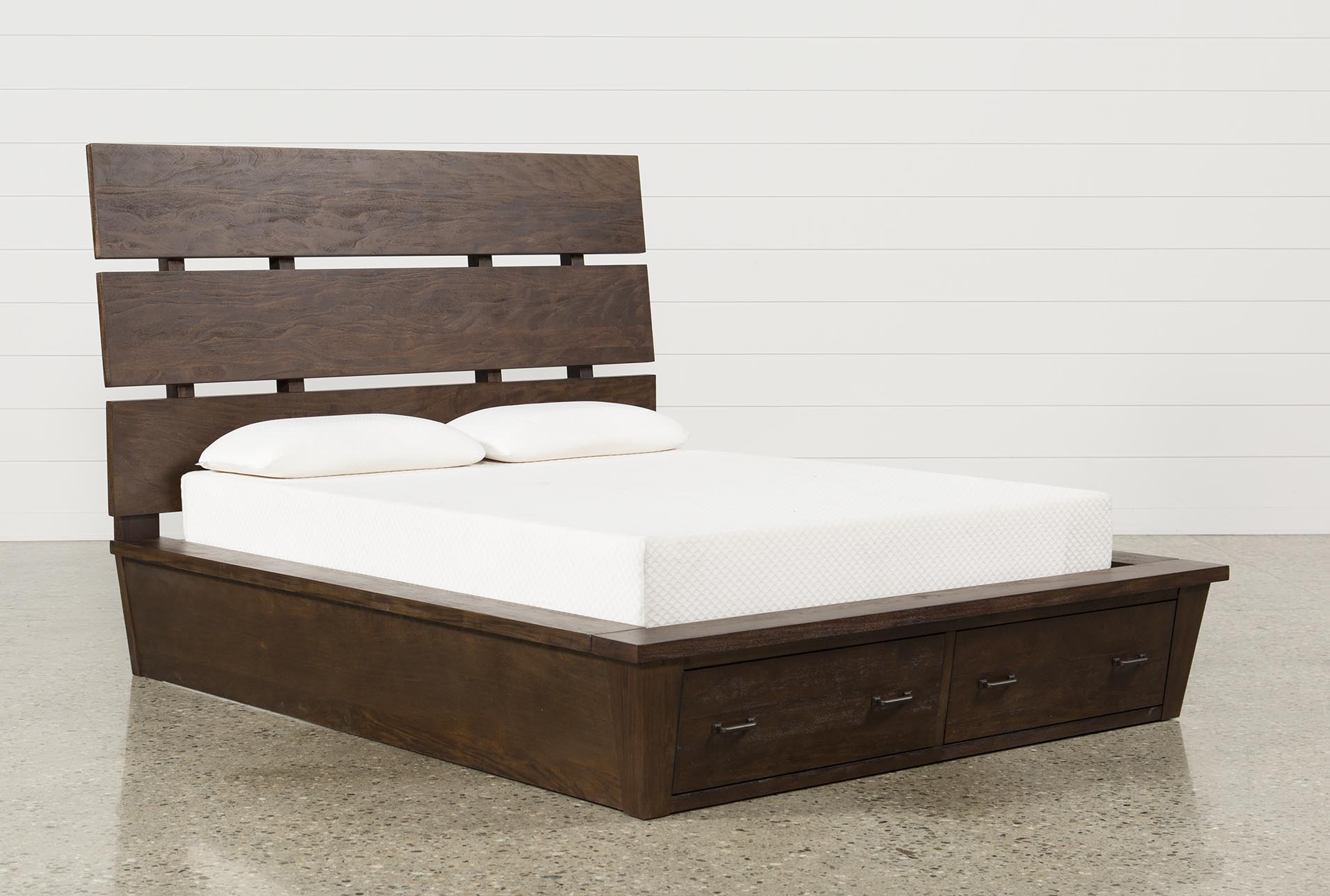 Livingston Queen Storage Bed (Qty: 1) has been successfully added to your  Cart.