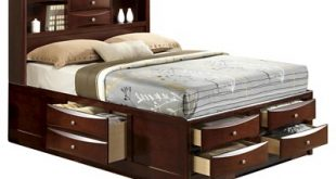 Claire Storage Bed with Bookcase Headboard - Picket House Furnishings®