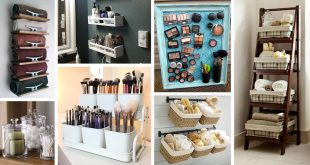 44 Creative Storage Ideas to Organize Your Small Bathroom