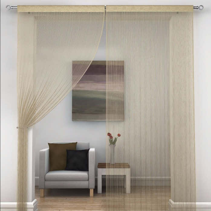 string curtain gold_000