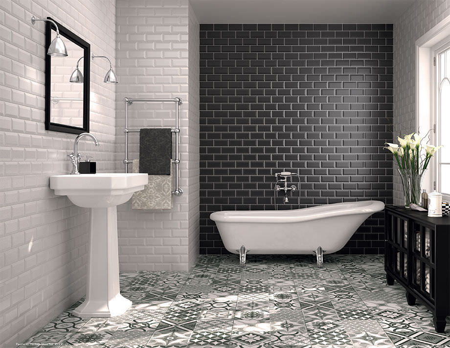 Use White Subway Tile Bathroom