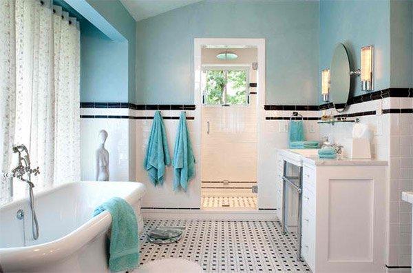 20 Beautiful Bathrooms Using Subway Tiles