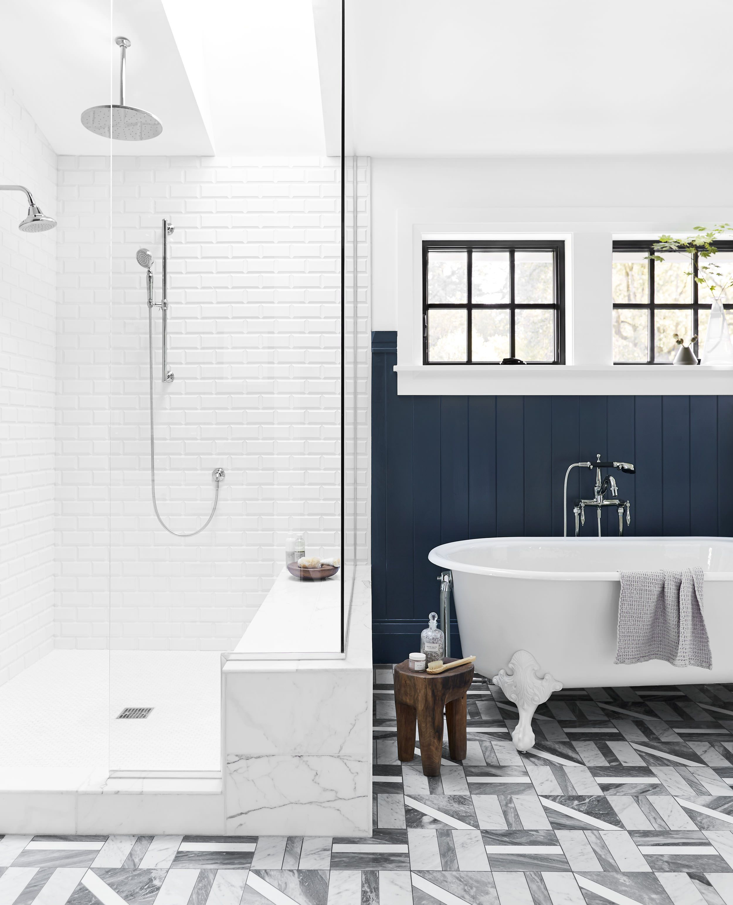 Courtesy of Sara Tramp for Emily Henderson Designs. Choose subway tile