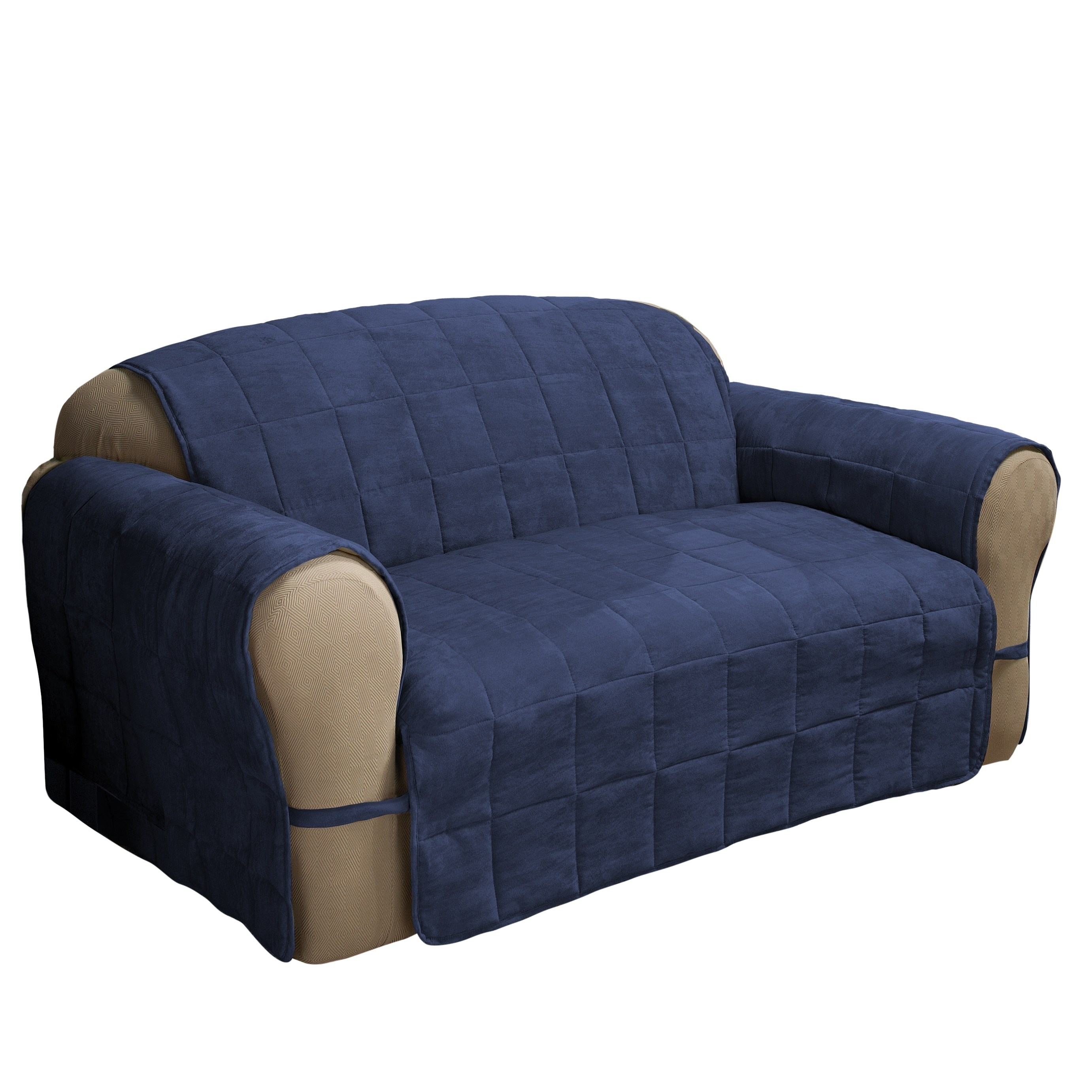 Shop Innovative Textile Solutions Ultimate Faux Suede Loveseat Furniture  Protector - Free Shipping Today - Overstock - 20759069