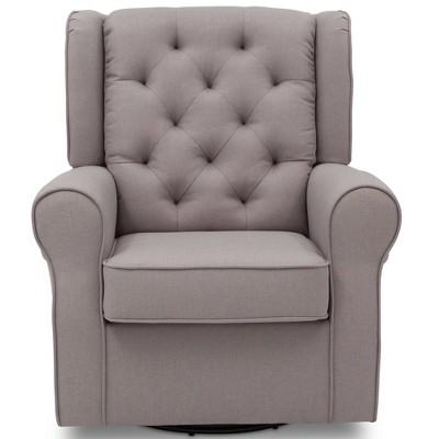Delta Children Emma Nursery Glider Swivel Rocker Chair - French Gray :  Target