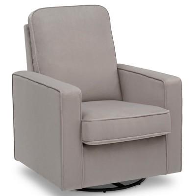 Delta Children Landry Nursery Glider Swivel Rocker Chair - Cloudy Gray :  Target