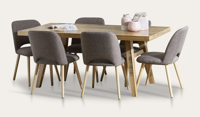 Alice dining suite with Alice chairs