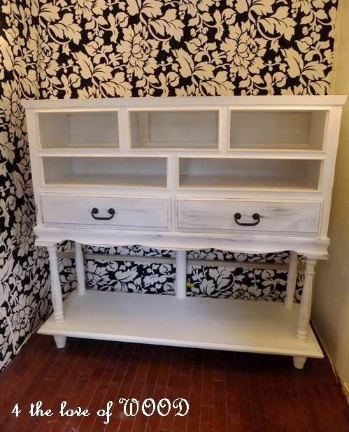 4 the love of wood: HOW TO MAKE A DRESSER 2ft TALLER - cottage