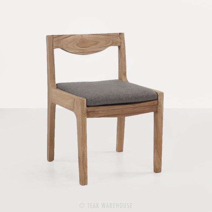 Curve Reclaimed Teak Dining Chair-0