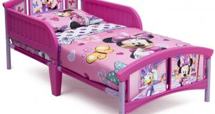 Delta Children Disney Minnie Mouse Plastic Toddler Bed, Pink - Traveller Location
