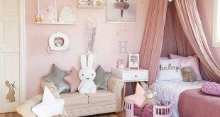 Decoración de cuartos tipo princesas Toddler Girl Bedrooms, Girls Pink Bedroom  Ideas, Girls Princess