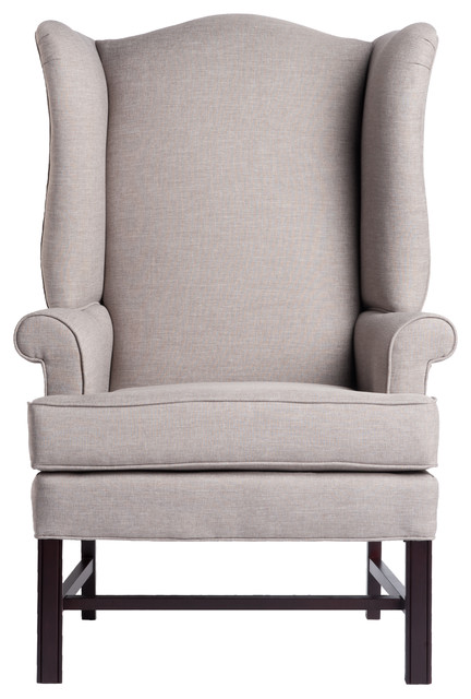 Jitterbug Chippendale Wingback Chair - Traditional - Armchairs And Accent  Chairs - by Comfort Pointe