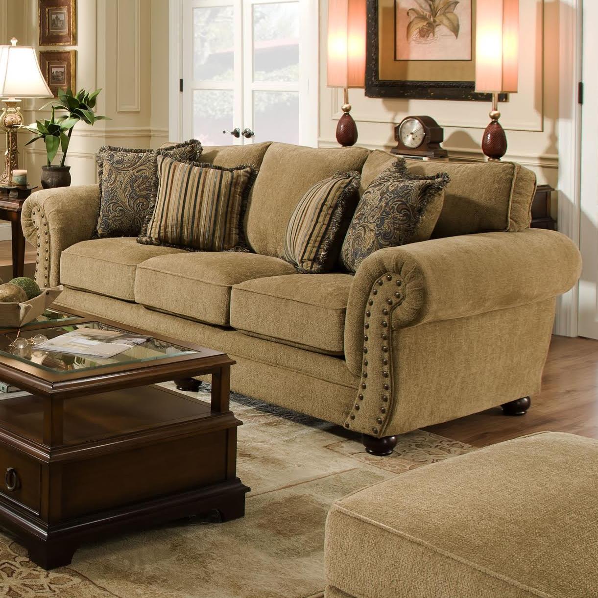 Simmons Upholstery 4277 Sofa