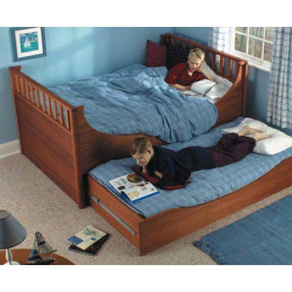 Trundle Bed Downloadable Plan. Tap to expand