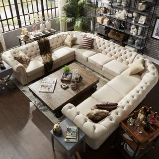 Buy U-Shape Sectional Sofas Online at Overstock | Our Best Living Room  Furniture Deals