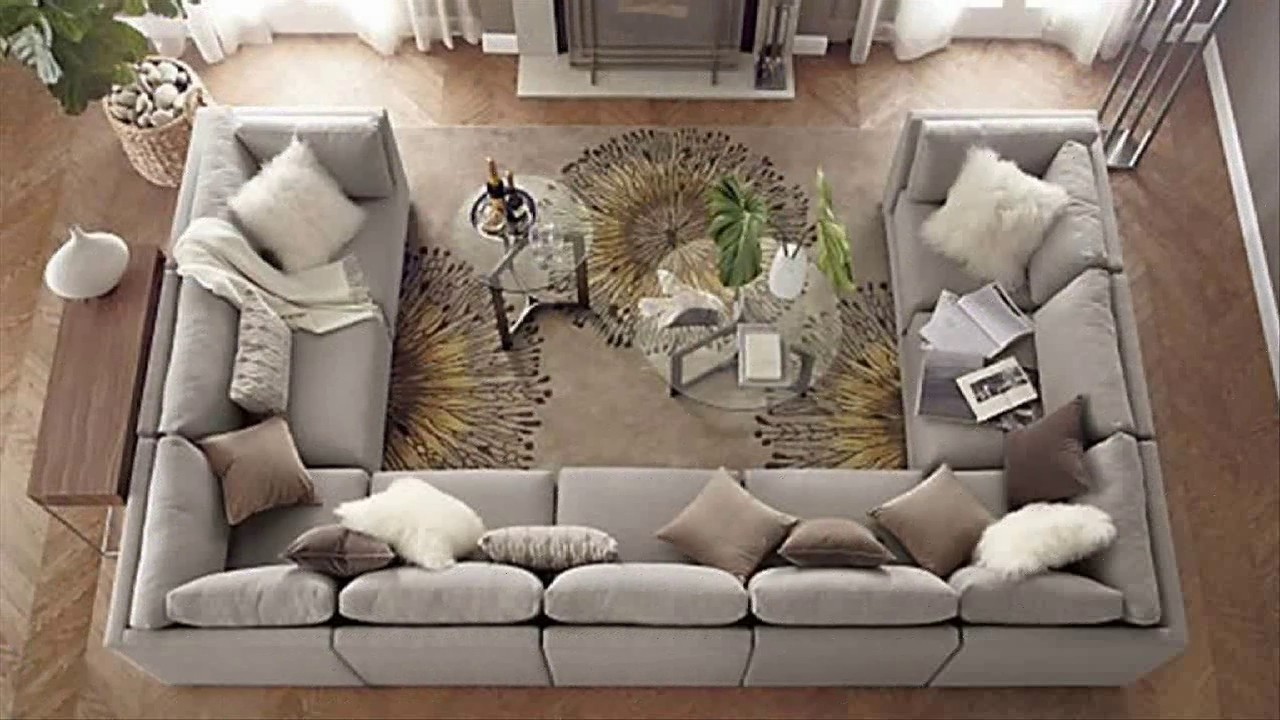 Awesome U Shaped Sectional Sofa