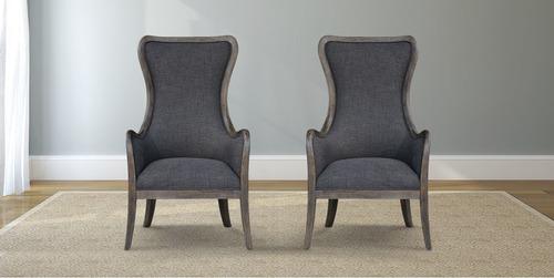 Bentwood Upholstered Armchair - James+James Furniture | Springdale, Arkansas