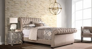 Upholstered Beds Queen Bombay Upholstered Bed by Hillsdale