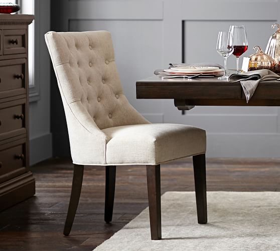 Hayes Tufted Upholstered Dining Chair