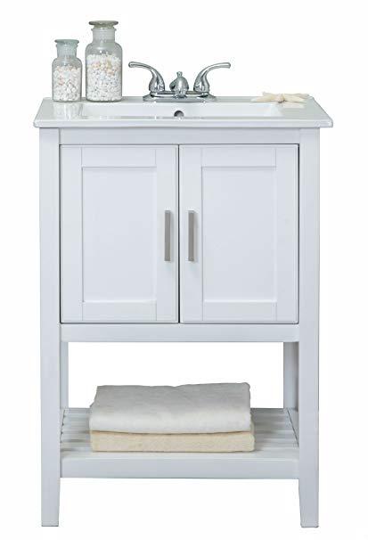"Legion Furniture WLF6020-W Sink Vanity 24"""