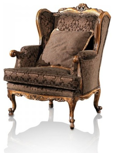 Foretti Bergere Armchair - Victorian - Armchairs And Accent Chairs - by  Francesco Molon USA